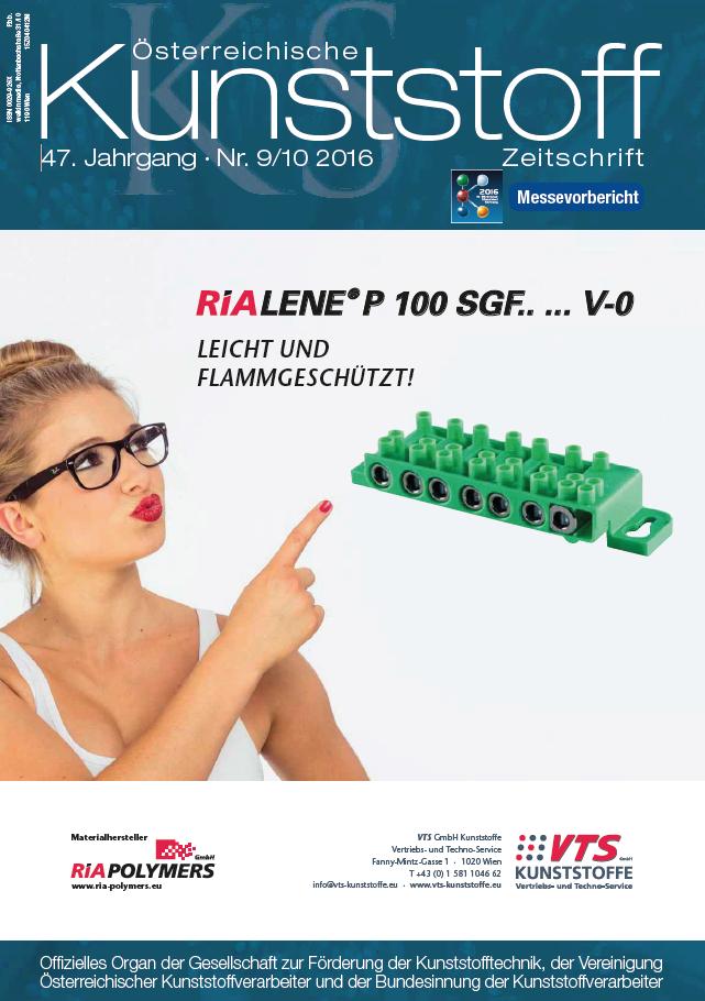 Österreichische Kunststoffzeitschrift 09/10 2016
