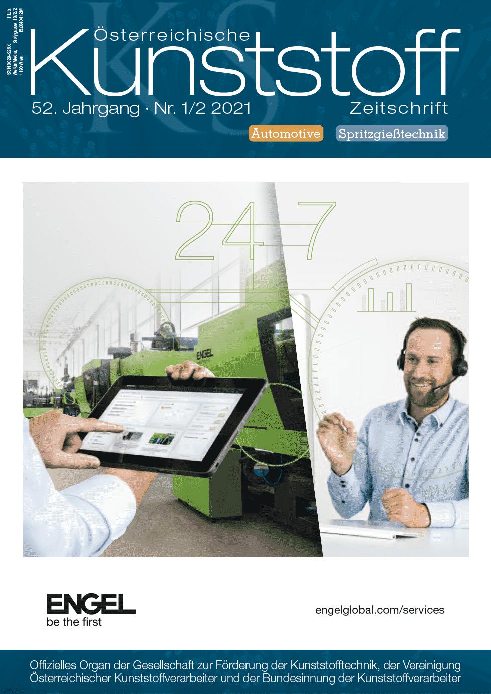 Österreichische Kunststoffzeitschrift 2021, 01/02