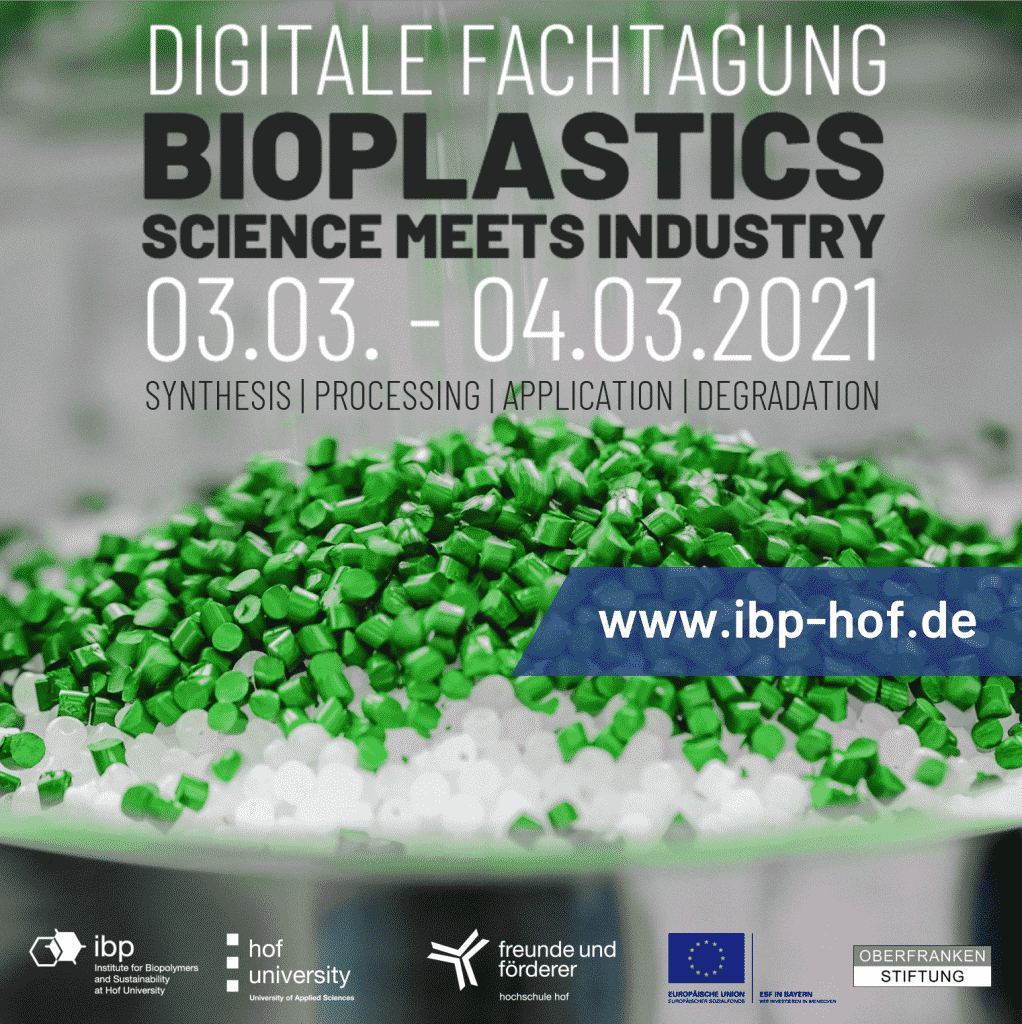 Bioplastics - Science meets Industry: Digitale Fachtagung | Bild: Hochschule Hof