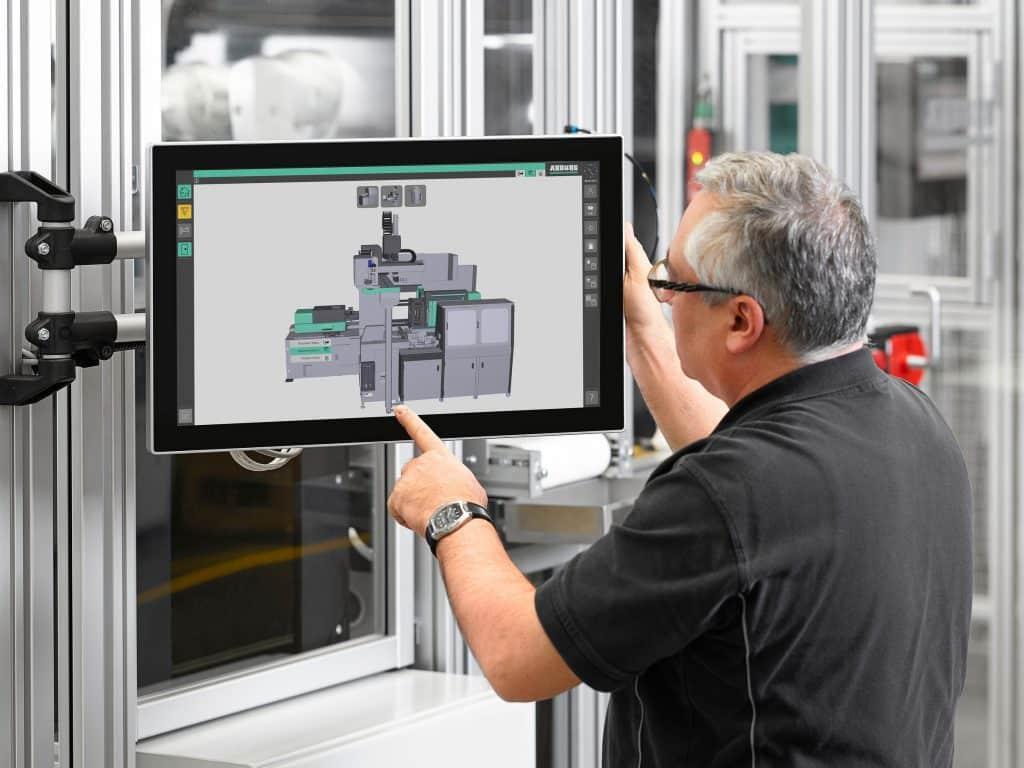 Scada-System Arburg Turnkey Control Module (ATCM) | Fotot: Arburg