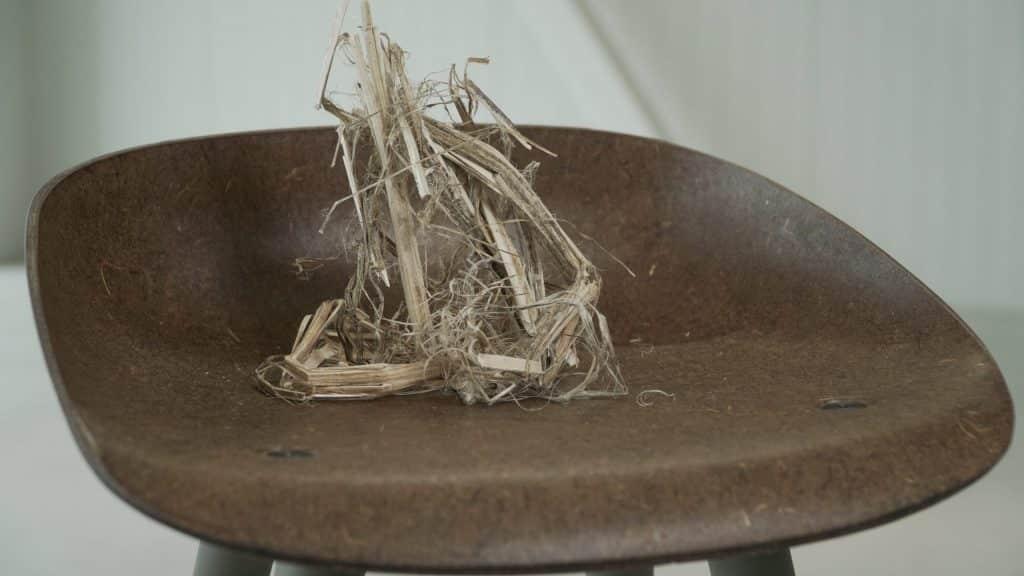 Stuhl aus Hanffasern | Foto: Plantics