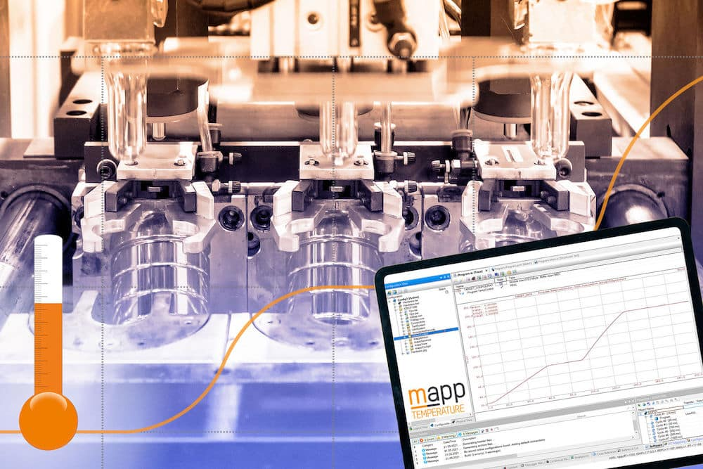 Soft-Start: Das Softwarepaket mapp Temperature von B&R bietet eine neue vorprogrammierte Methode zum Aufheizen von Maschinen und Anlagen. | Grafik: B&R