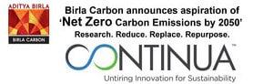 Birla Carbon will Netto-Kohlenstoffemissionen bis 2050 auf Null senken   Grafik: Birla Carbon