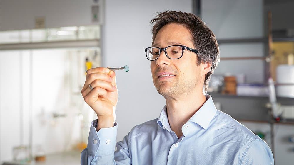 Prof. Dr. Michael Sommer von der TU Chemnitz hatte die Leitung des Forschungsteams inne.   Foto: Jacob Müller