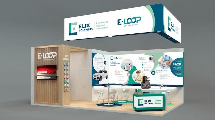 ELIX Polymers wird auf der FAKUMA vom 12. bis 16.10.2021 seine neuen nachhaltigen E-LOOP-Produkte und -Dienstleistungen präsentieren. | Foto: ELIX