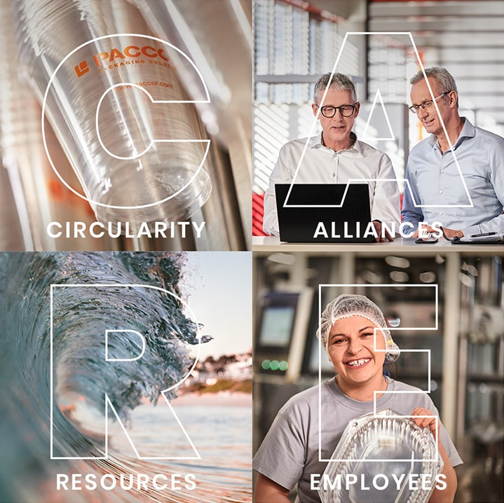 PACCOR developed a remarkable sustainability CARE strategy with its four key points: Circularity, Alliances, Resources, and Employees | Foto: PACCOR